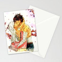 Shadow X Arus - Under the sakura tree Stationery Cards