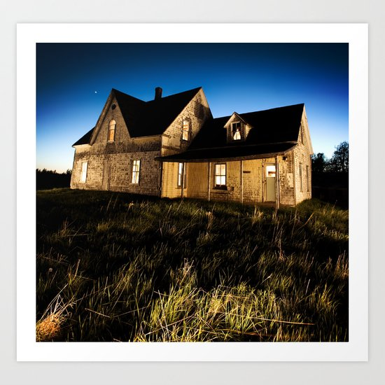 Country Homestead Art Print