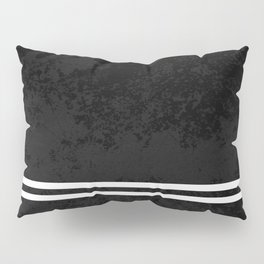 Infinite Road - Black And White Abstract Pillow Sham