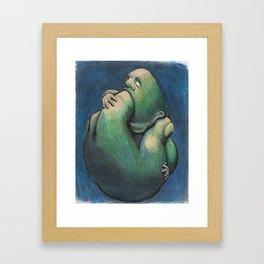 Punishment Framed Art Print