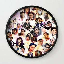 Shahrukh Khan Pillowcase Wall Clock