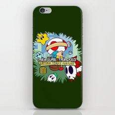 Treasure Tracked: Captain Toad's Fortune iPhone & iPod Skin