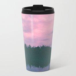 Rose island sunsets Travel Mug
