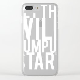 Let The Wild Rumpus Start Clear iPhone Case
