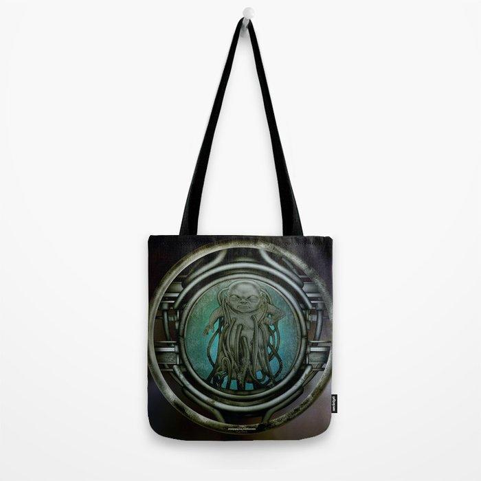 """""""Astrological Mechanism - Aquarius"""" Tote Bag"""