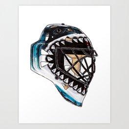 Heyward - Mask Art Print