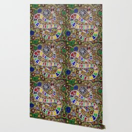 THE RAINBOW SERPENT Wallpaper
