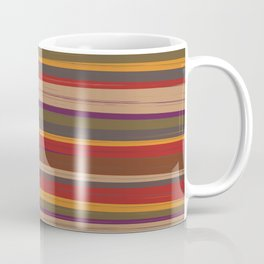 Fourth Doctor Scarf Coffee Mug