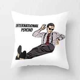 International Psycho Throw Pillow