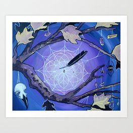 The Spider's Alter Art Print