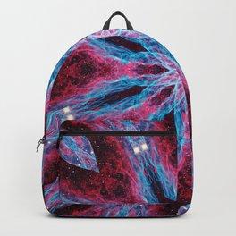 Cosmic Lightning Mandala Backpack