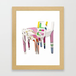 CHAIR 01 Framed Art Print