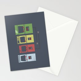 Arcade Machines Stationery Cards