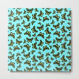 Butterfly Kaleidoscope Metal Print
