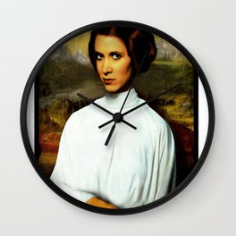 Carrie Fisher 1 Wall Clock