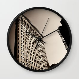 New York City Flatiron Wall Clock