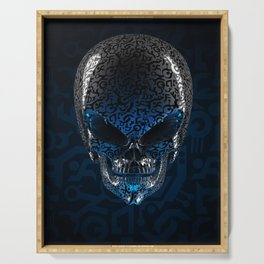 Alien Skull Serving Tray