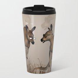 Funny kangaroos Travel Mug