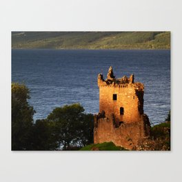 Urquhart Keep Canvas Print