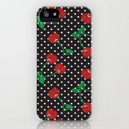 Cherry Pin-Up iPhone Case