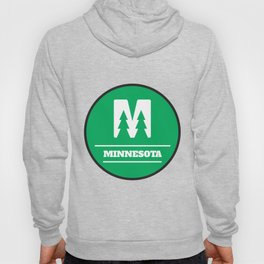 Minnesota Circle Logo Hoody