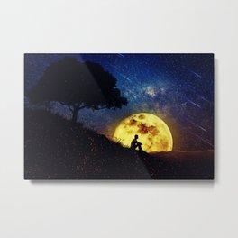 The Healing Power of Nature (Night Scene) Metal Print