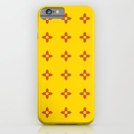 flag of new mexico 3 iPhone Case