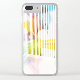_ON/OFF Clear iPhone Case