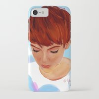 ginger iPhone & iPod Cases featuring Ginger by Adelys