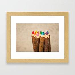 Color Me Free I Framed Art Print