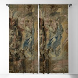 Peter Paul Rubens - The Virgin as the Woman of the Apocalypse Blackout Curtain