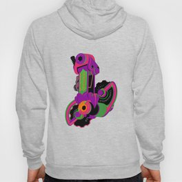 The World's Most Famous 70's Derailleur, One Cool Cat Hoody