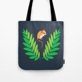 White-footed Mouse + Locust Tree Tote Bag