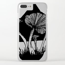 Funnel Chantarelles Clear iPhone Case