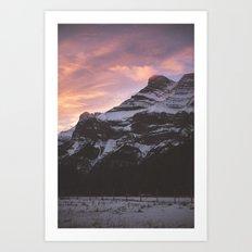 Rockies Sunrise Art Print