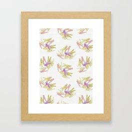 Сlothespins Framed Art Print