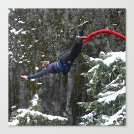 Bungee jump Canvas Print