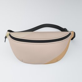 Warm Neutral Color Wave Fanny Pack
