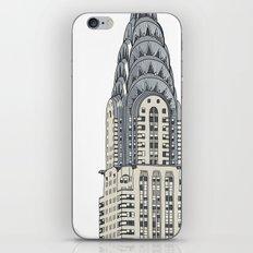 Scraper Series. New York 001 iPhone & iPod Skin