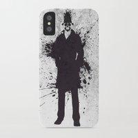 watchmen iPhone & iPod Cases featuring WATCHMEN - RORSCHACH by Zorio