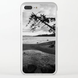 Mount Douglas park Clear iPhone Case