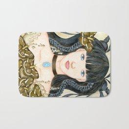 Moth Girl Bath Mat