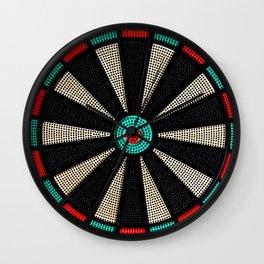 Dart board pattern Wall Clock
