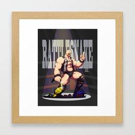 Stone Cold Steve Austin - Rattlesnake Framed Art Print