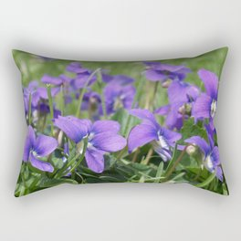 Lawn Gems of Spring Rectangular Pillow