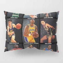 Basketball Legends Pillow Sham