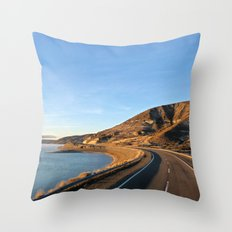 Road to Bariloche Throw Pillow