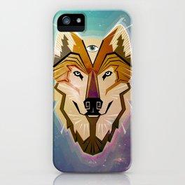 WOLF-MALIA iPhone Case