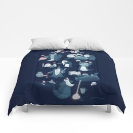 A Shared Flat for Wizards Comforters