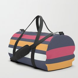 Classic Retro Stripes 2 Duffle Bag